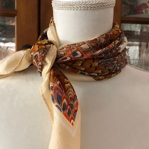 Vintage feather scarf
